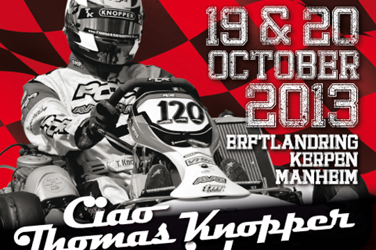 Ciao Thomas Knopper Memorial is back!