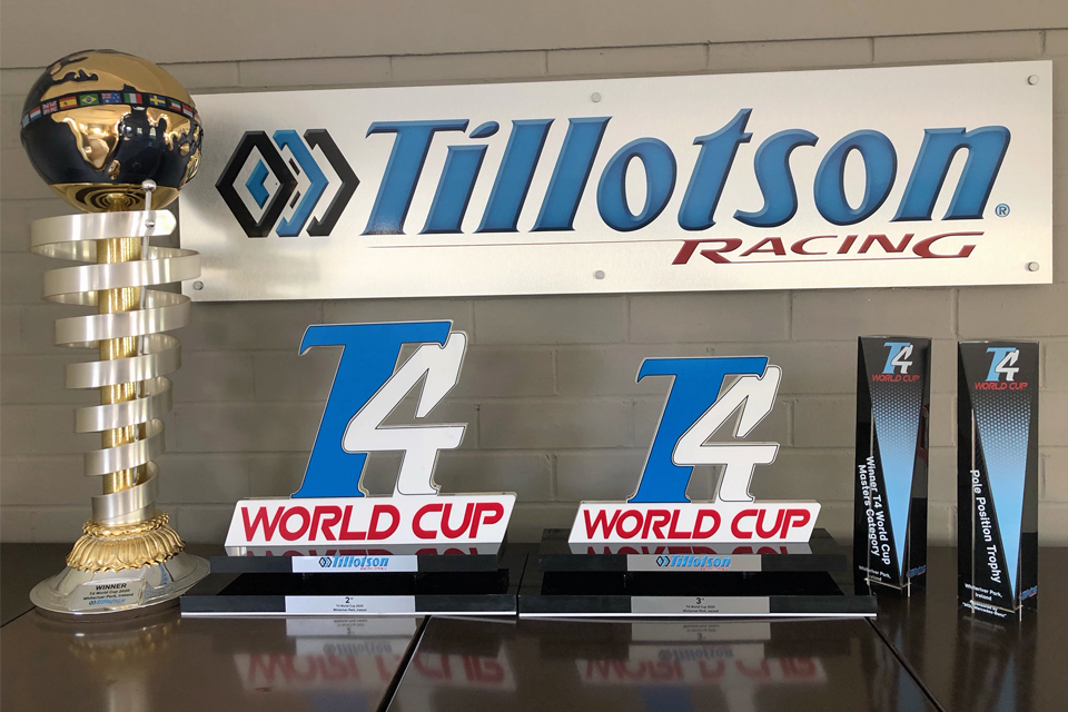 Everything is ready for the Tillotson T4 World Cup