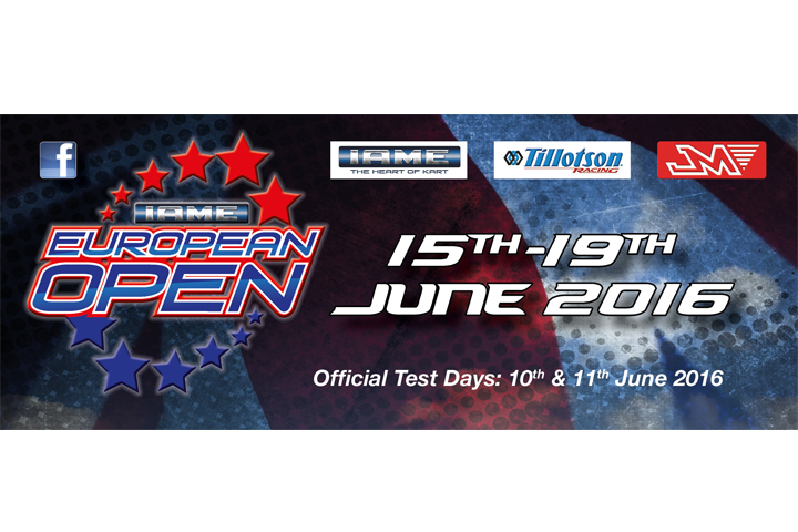 IAME European Open - Entries Closing Soon!