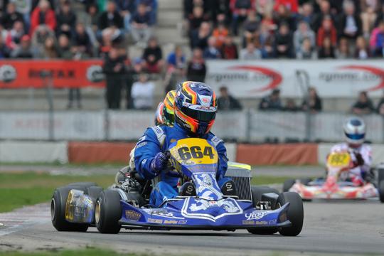 Praga gets podium in Rotax Euro Challenge