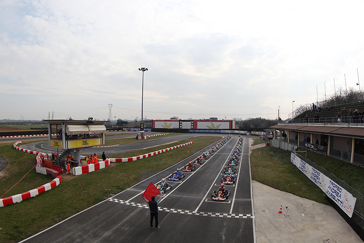 The 28th Andrea Margutti Trophy reaches level 223 drivers in Lonato