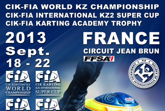 Appointment in France with the CIK-FIA World KZ Championship and the International KZ2 Super Cup