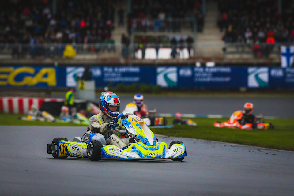 FA Kart wins the junior world title in Alahärmä