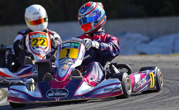 Giltrap Group New Zealand Rotax Max Challenge, KartSport Wellington - Rounds 5 & 6, August 21 2016