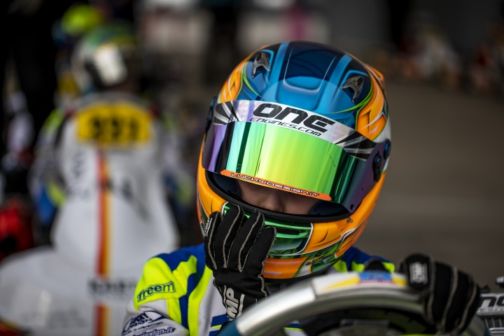 Qualifying complicates the WSK Champions Cup of Laurens van Hoepen