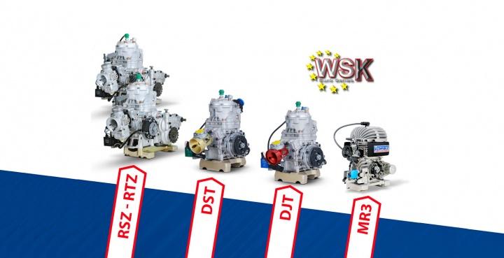 Vortex KZ2 champion of the WSK Euro Series