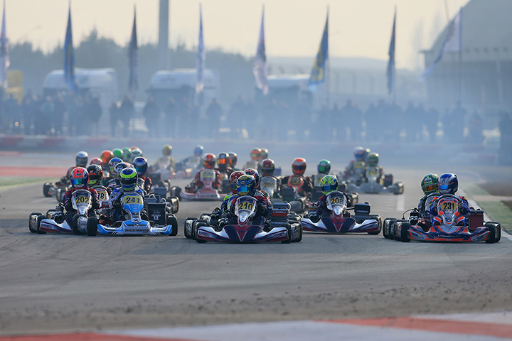 WSK Super Master Series is ready to start with its season-opener from 2nd to 5th February at the Adria Karting Raceway