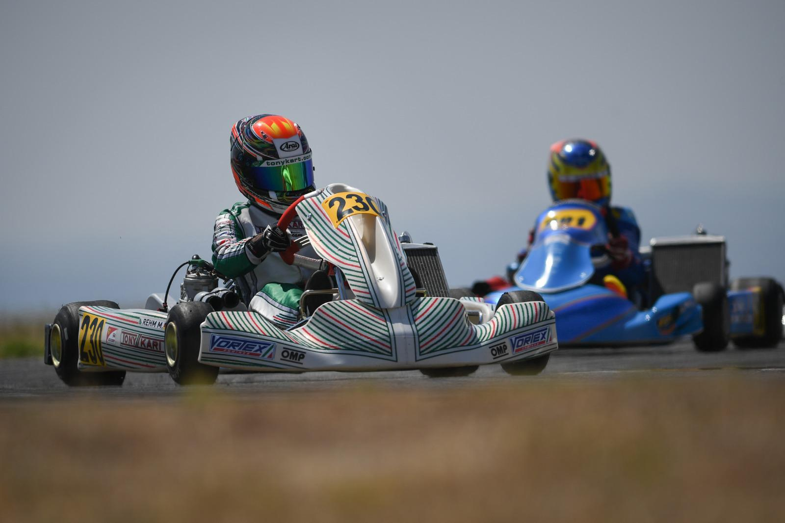 A weekend of comebacks for Rehm in the DKM opening round.
