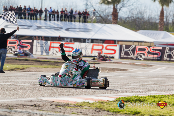 Ardigò challenges Abbasse for the WSK Super Master Series