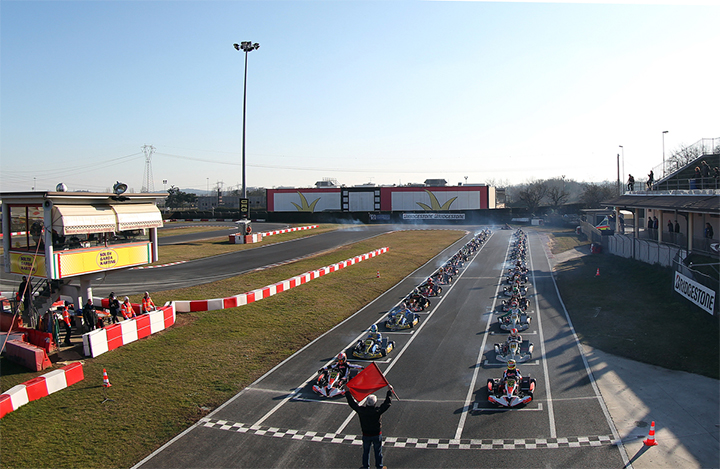 Subscription open for Winter Cup 2017 at South Garda Karting of Lonato