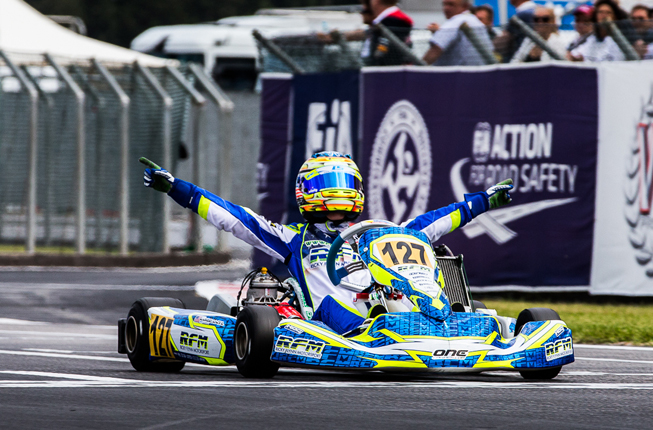 Sargeant is 2015 KFJ World Champion