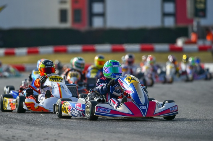 Great performances in the second weekend of WSK Super Master Series