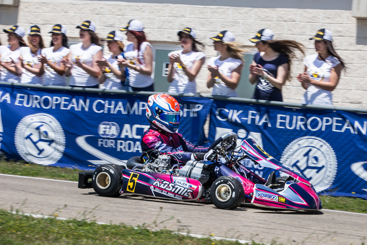 CIK-FIA European KZ - OK - OK Junior previsional standings