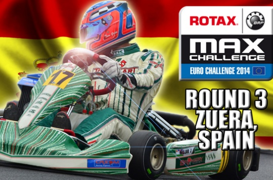 Hot halftime show at the Rotax Euro Challenge