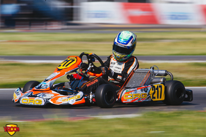 CIK-FIA OK Junior European Championship, Sarno – Saturday report