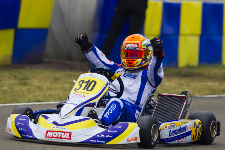 CIK-FIA European Championships, Le Mans - KZ2 final