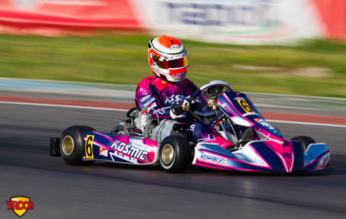 CIK-FIA KZ European Championship, Sarno – Saturday report