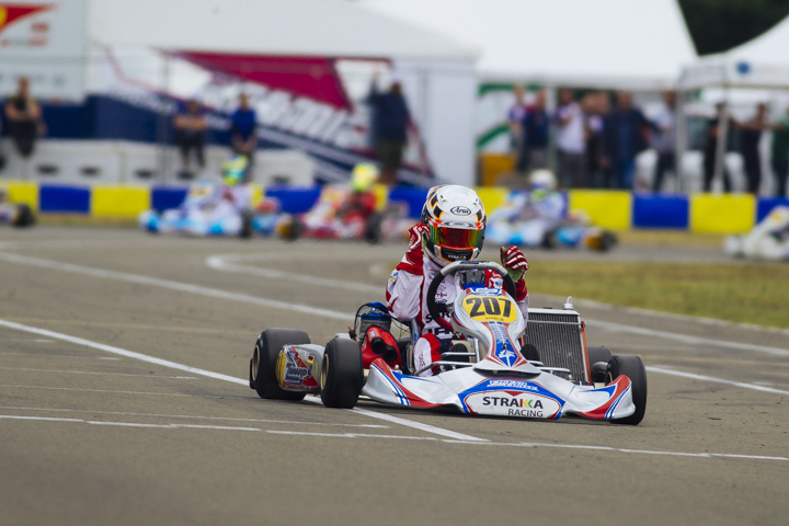 CIK-FIA European Championships, Le Mans - OK Junior final