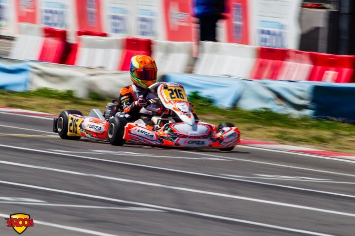 CIK-FIA OK Junior European Championship, Sarno – final race report