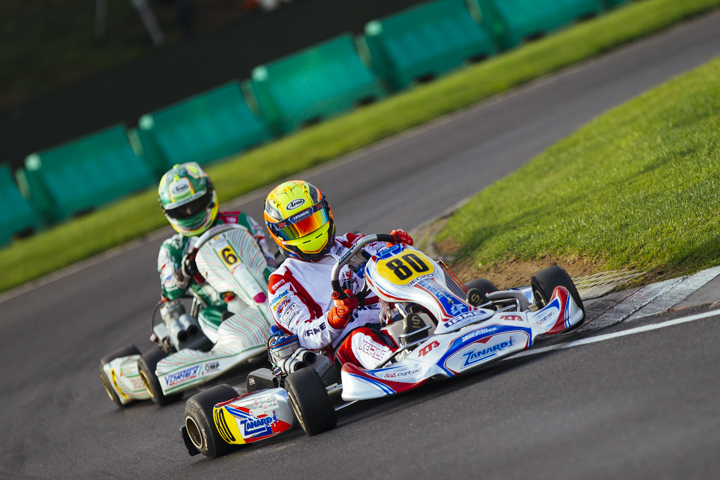 CIK-FIA World OK & OKJ Championship - Saturday report