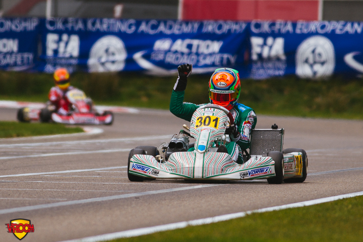CIK-FIA European KZ & KZ2 Championship, Academy Trophy - Finals