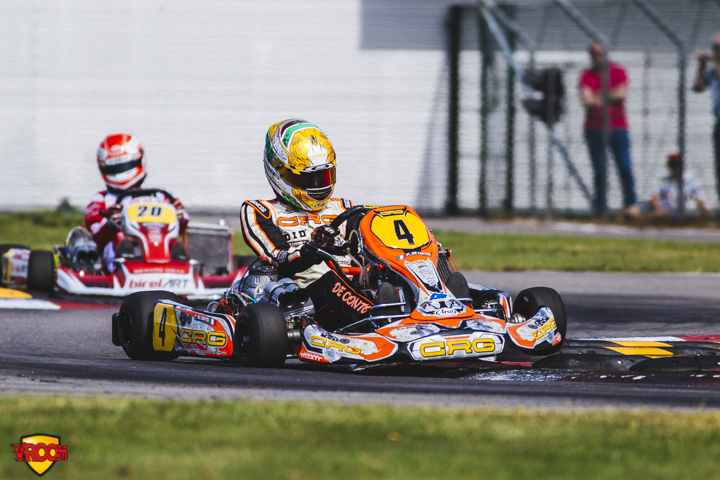 CIK-FIA European Championship, Oviedo - Saturday report