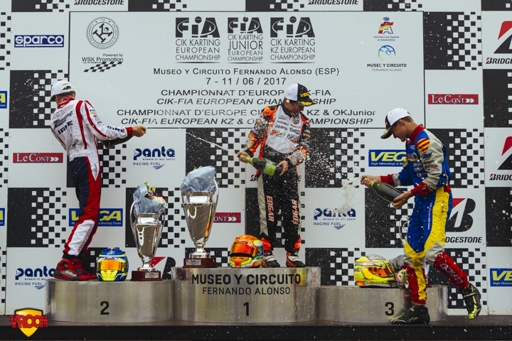 CIK-FIA European Championship, Oviedo - OK Junior final