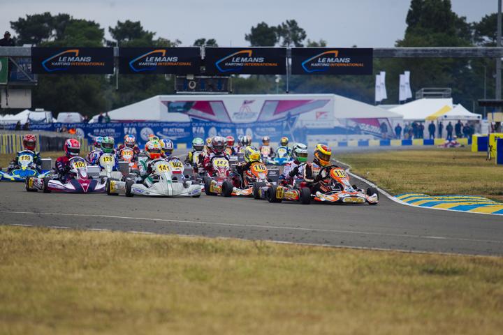 CIK-FIA European Championships, Saturday report
