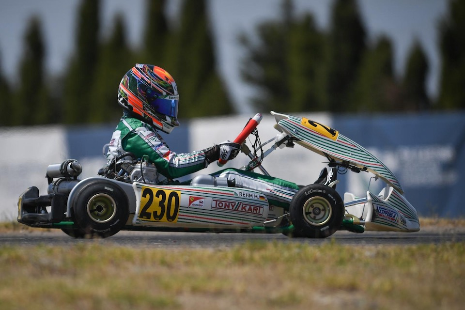 Rehm, time for the 2nd round of the European Championship