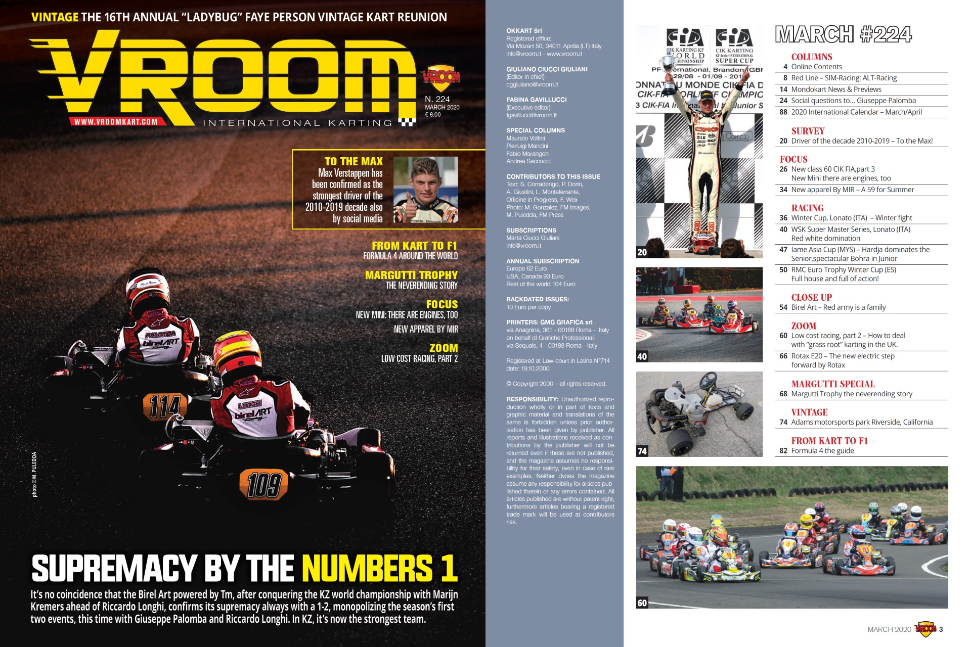 Vroom International March 2020 out now!