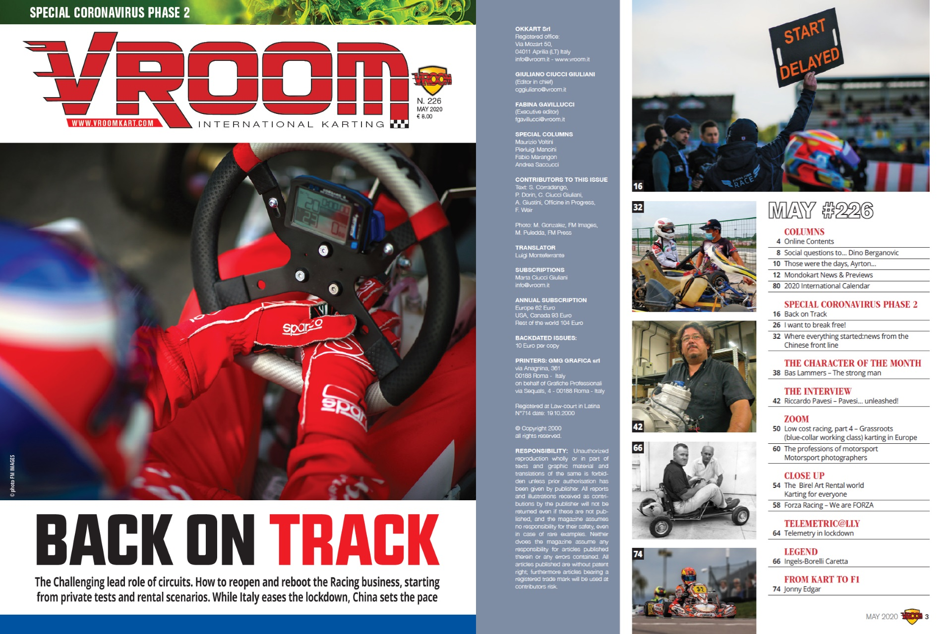 Vroom International May 2020 out now!