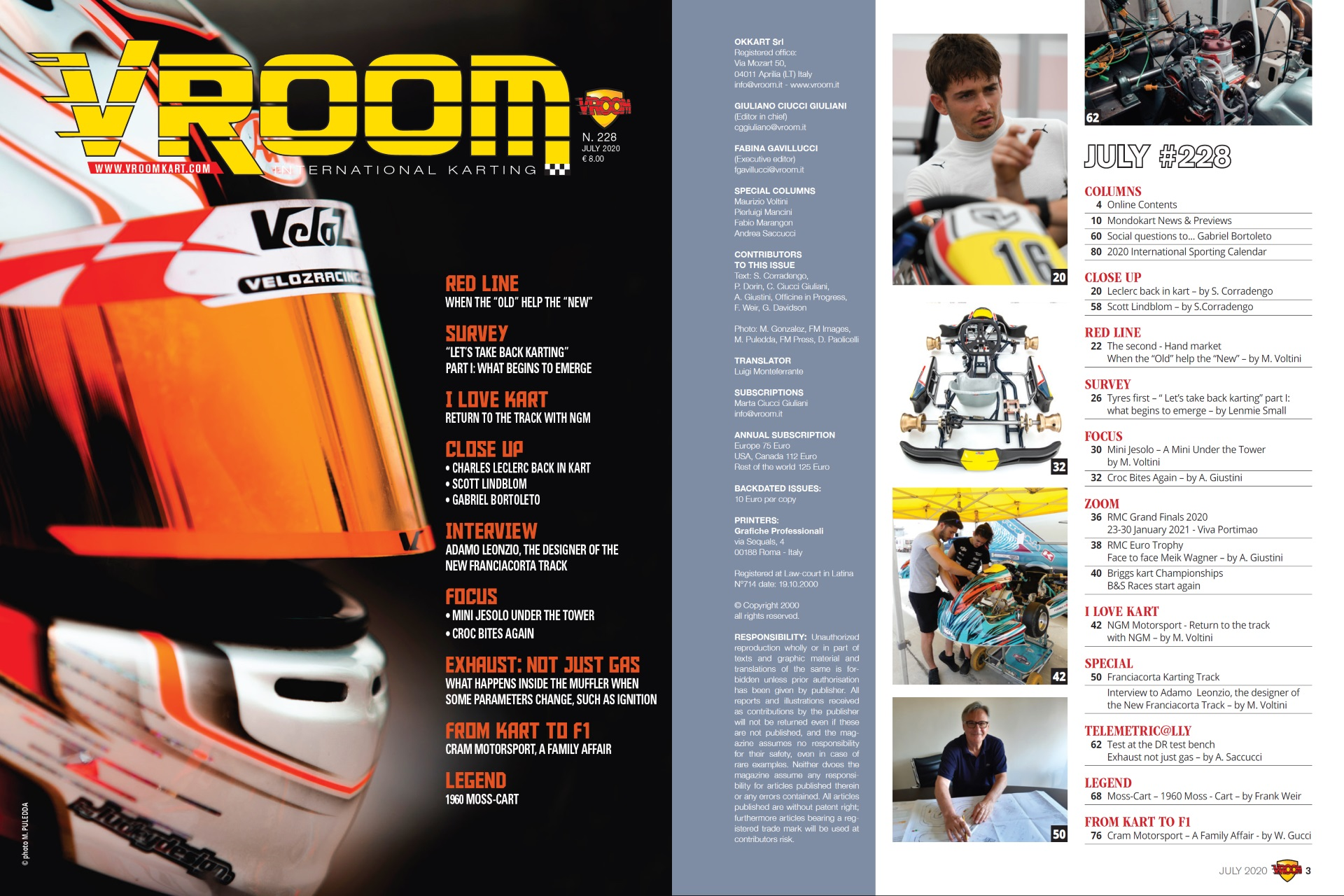Vroom International July 2020 out now!