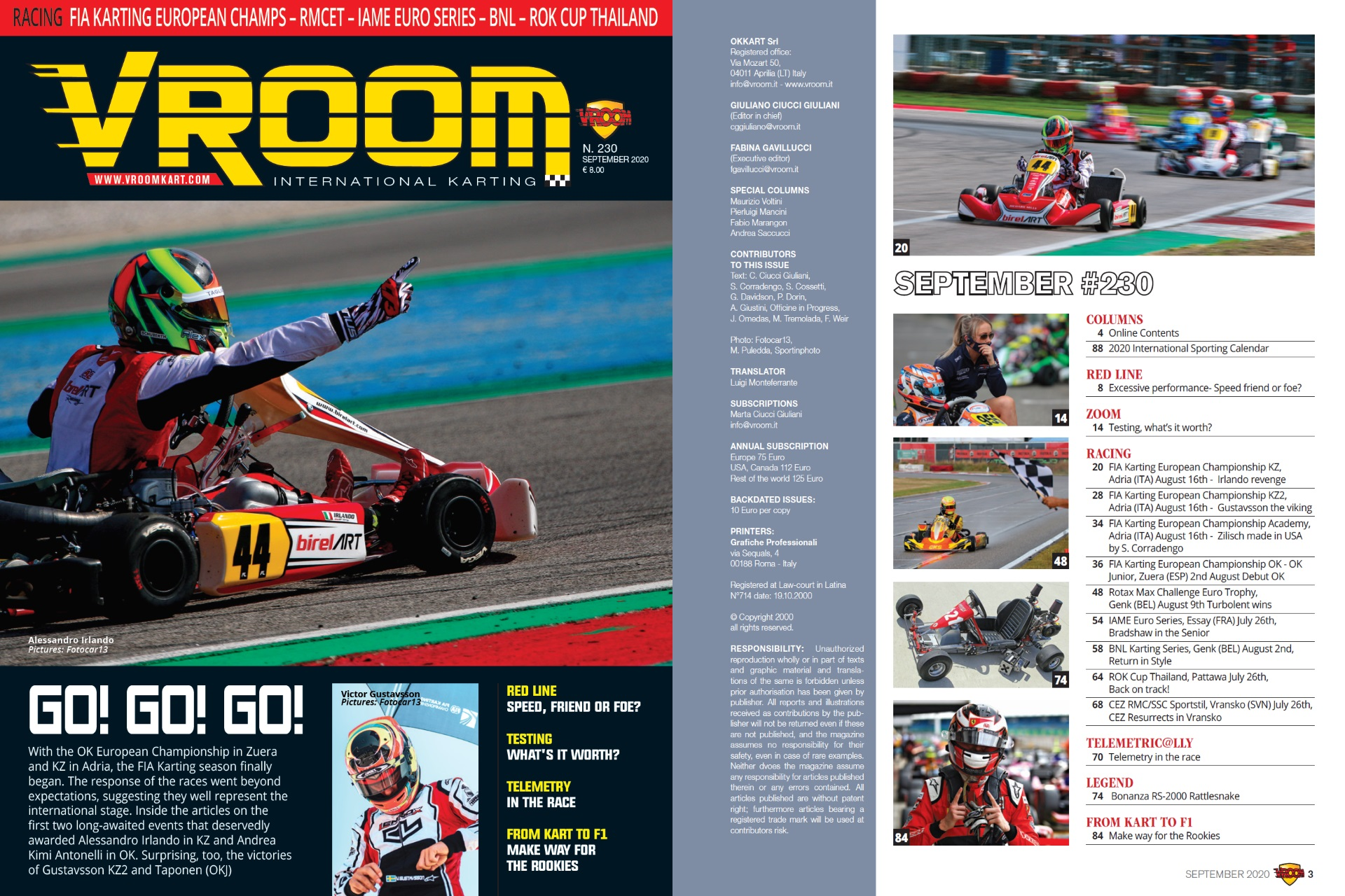 Vroom International September 2020 out now!