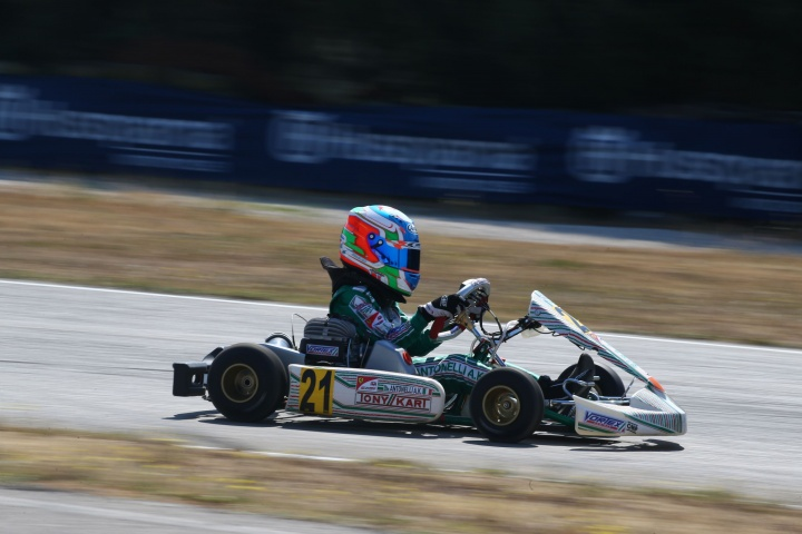Antonelli wins the the 3rd round of the Italian Championship