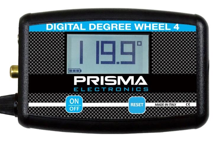 Prisma Electronics launch the new Digital Degree Wheel 4
