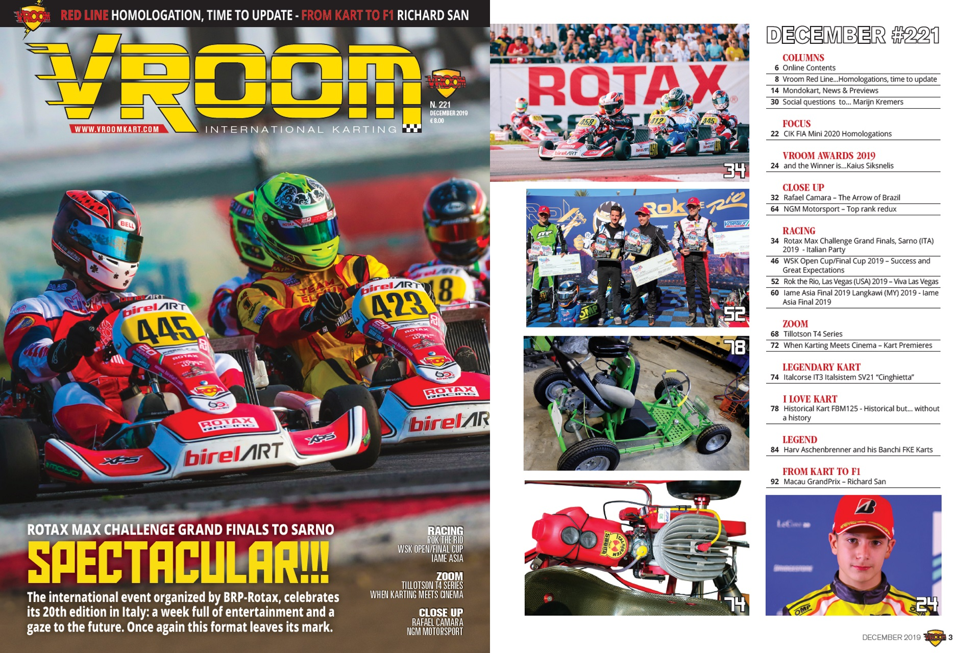 Vroom International December 2019 out now!