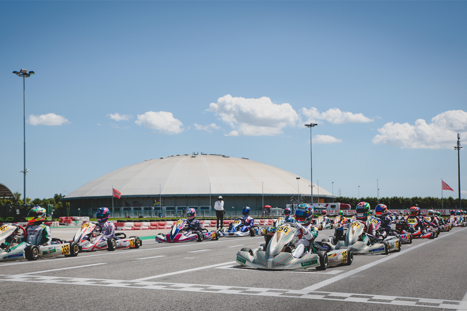 New winners In all classes at round 2 Of the Rotax Euro Trophy