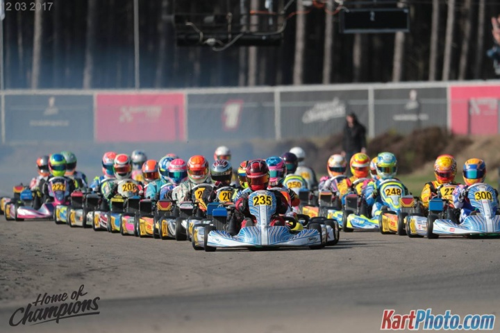 BNL Karting Series, Genk - Kick off round, March 12 2017