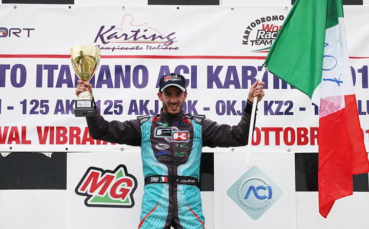 Great last round of the Italian ACI Karting Championship in Val Vibrata