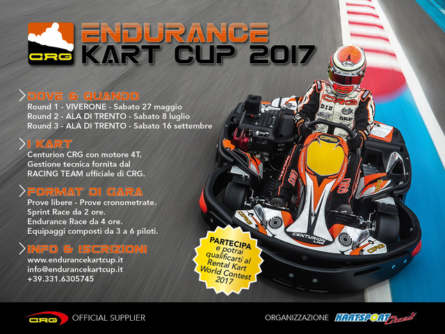 CRG partner of the Endurance Kart Cup