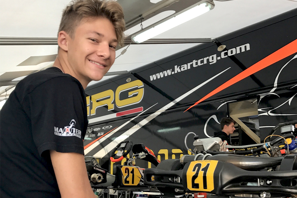 Dennis Hauger, double DKM champion to FIA F3, takes pole in Spain