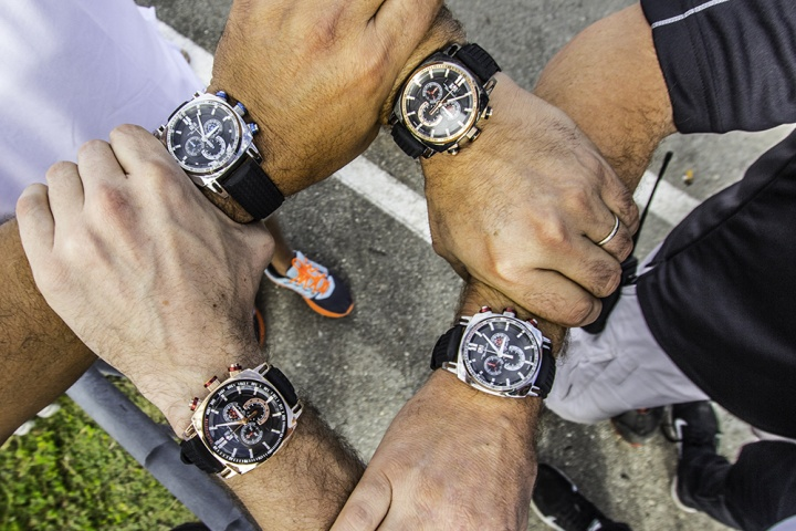 "Ritmo Mundo Named ""Official Time Keeper"" for All 2016 MAXSpeed Entertainment Promoted Events"