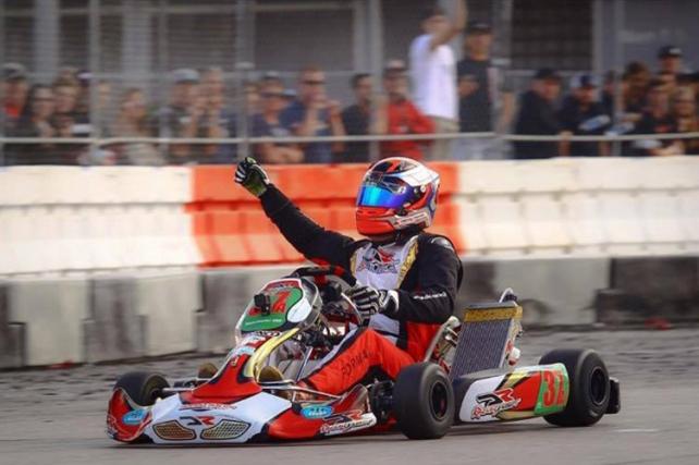 DRT Racing / DR Kart driver Danny Formal won S1 at SKUSA SuperNationals