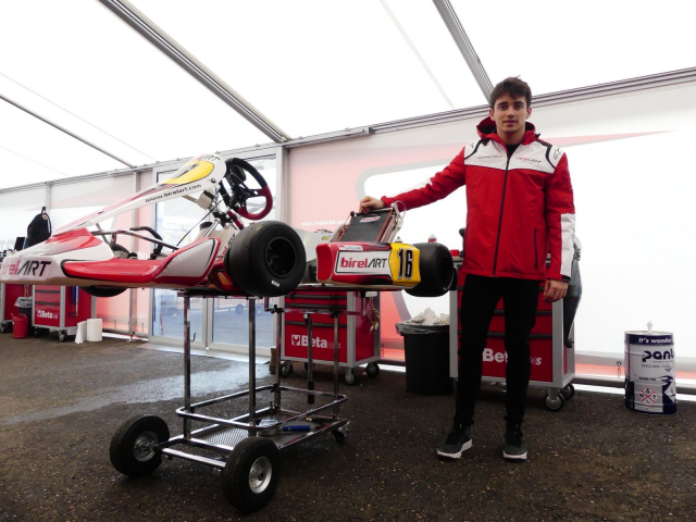 Karting, look who's back! Leclerc, Ilott and Fuoco in Lonato as the season starts