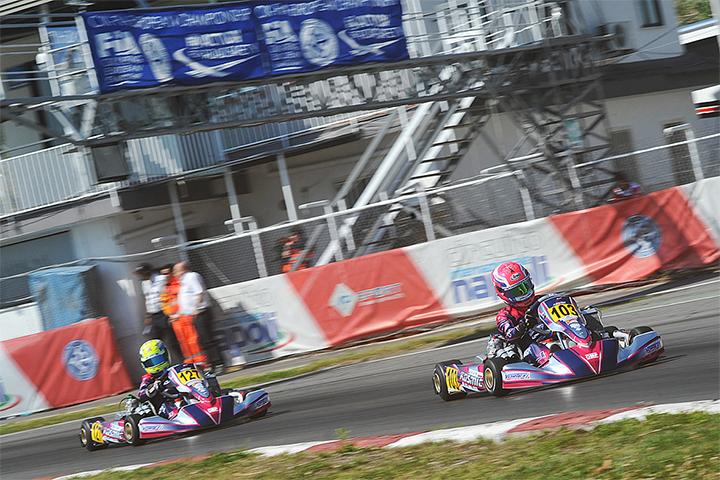 CIK-FIA European Championship, Sarno – Heats report
