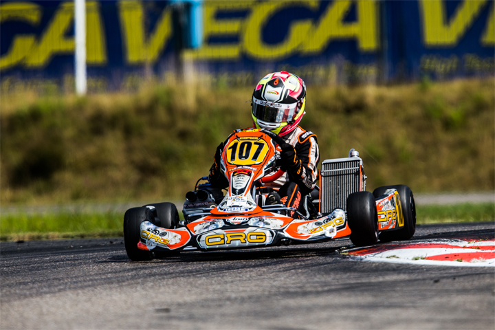 OK: Clement Novalak triumphs in final race. Pedro Hiltbrand is the first European OK champion!
