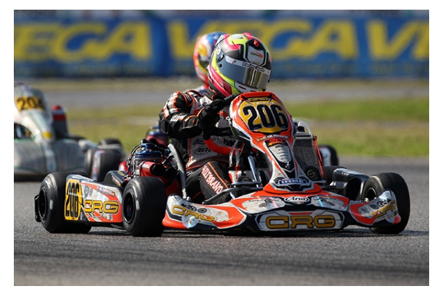 CRG heading to La Conca for the WSK Super Master Series