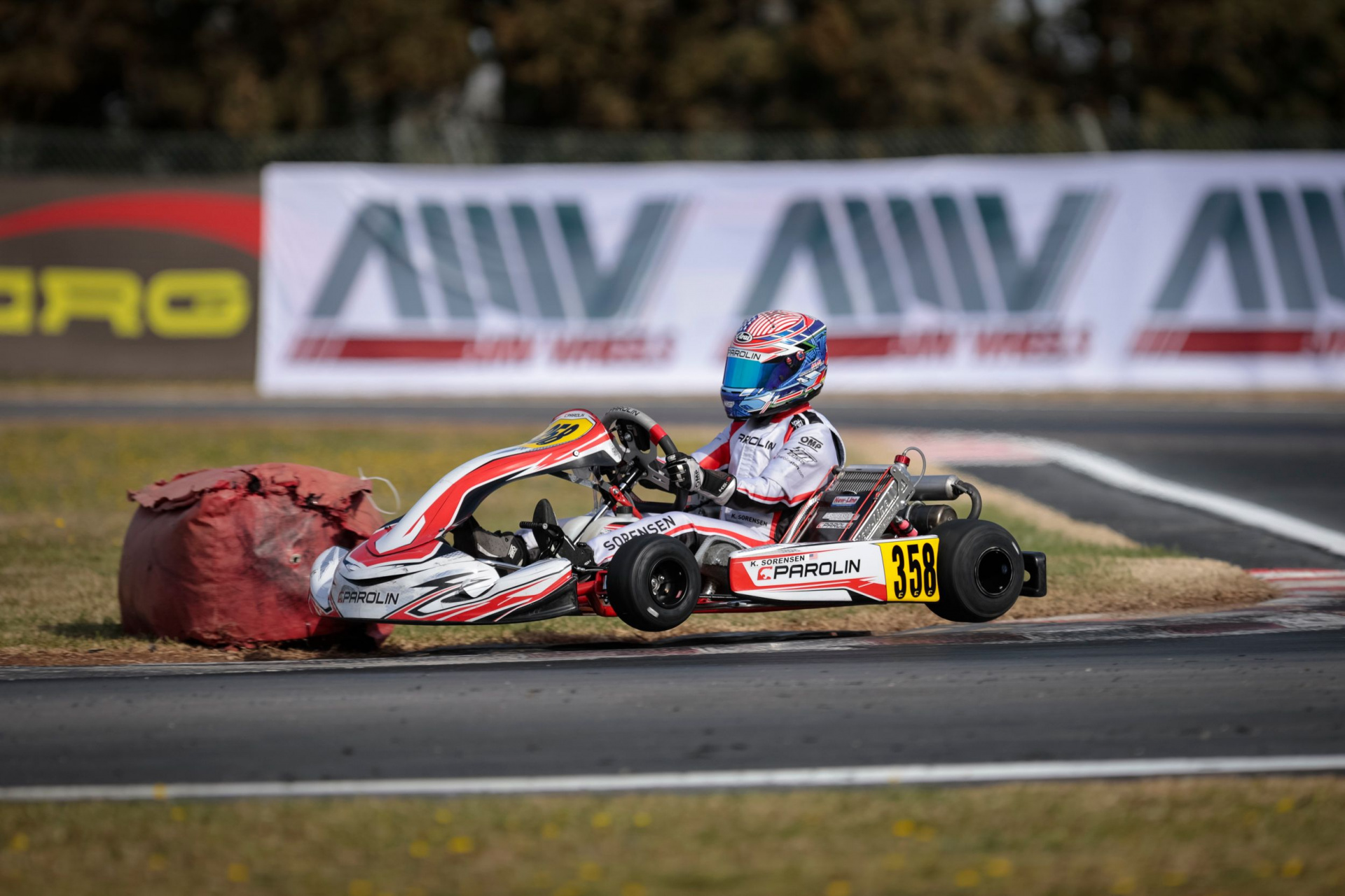 Kai Sorensen unlucky but competitive in the second round of WSK Super Master Series