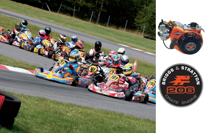 Is the Briggs 206 race engine an answer to increasing the participation in karting throughout Europe?
