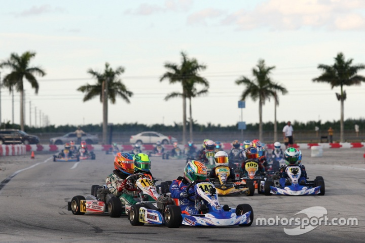 2016 Sofina Foods Florida Winter Tour Presented by Fikse Wheels Rotax MAX Challenge Weekend at Homestead Karting